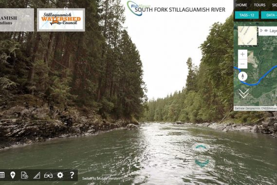 It's like a Google Street View for the Stillaguamish River