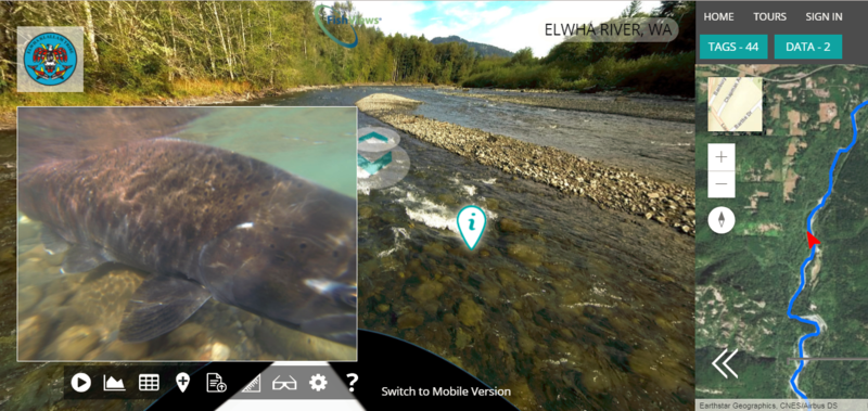 'FishViews' Mapping Tool Provides Virtual Tours Of Local Rivers